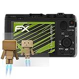 atFoliX Displayschutz für Sony DSC-HX50V Spiegelfolie - FX-Mirror Folie mit Spiegeleffekt