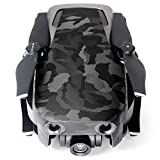 Wrapgrade Poly Skin for DJI Mavic Air | Unit A: Colored Parts and Rear Trim (BLACK BUMPY CAMO)