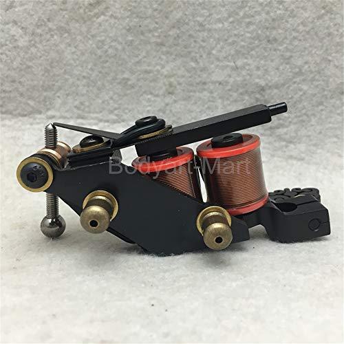 Handmade Eisen Luos Shader Tattoo Maschinengewehr 10 Wrap Spulen 25 mm Höhe