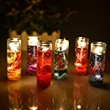 Must Visit Attractiv And Artist Pencil Decorativ Candle In Beautyfull, Attractive Gel Multi Color Set Of 6 For Festival Home Decorative Anniversary Birthday Christmas 2.5X8cm