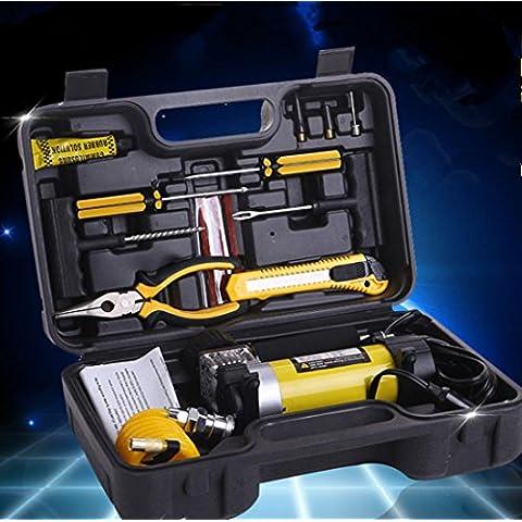 Doppio cilindro utensili pneumatici kit auto aria pompa set gonfiabile all