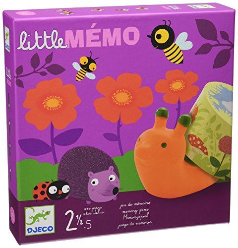Djeco- Juegos de acción y reflejosJuegos educativosDJECOJuego Little Memo, (DJ08552)