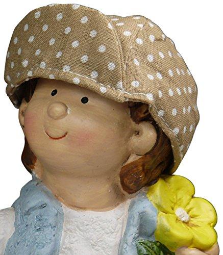 "khevga Gartenzwerg 2er Set aus Terrakotta-Keramik ""Hänsel und Gretel"" - 8"