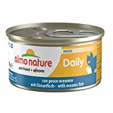Almo Nature Cat Food Dailymenu Mousse with Oceanic Fish, Pack of 24