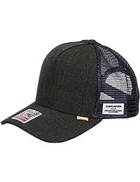 DJINNS - Glen Check (grey) - High Fitted Trucker Cap