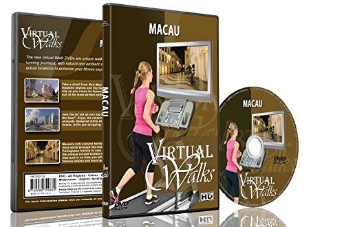 Virtuelle Spaziergänge - Macau für den Innen Walking, Laufband und Rad-Training (Licht-haus-programm)
