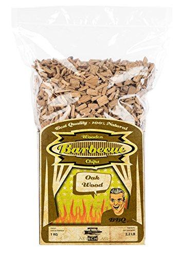 Axtschlag Wooden Barbecue Chips - Oak Wood (Eiche) - Räucherspäne