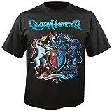 GLORYHAMMER - Sanctus Dominus Infernus Ad Astra - T-Shirt Größe L