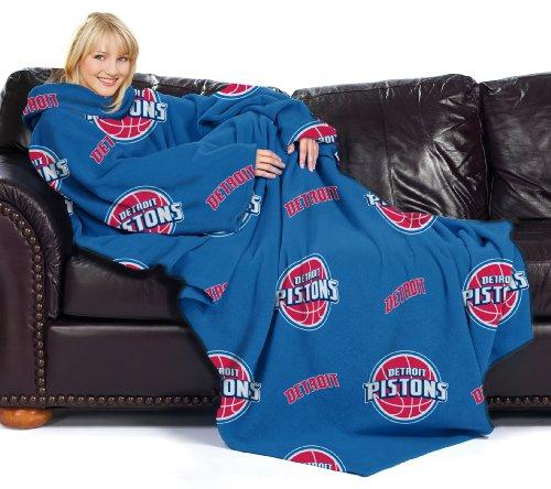 Northwest NBA Detroit Kolben gemütlichen Überwurf Decke mit Ärmeln, Repeat - Werfen Decke ärmel