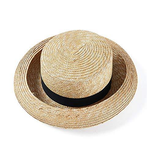 Jxth Cappelli Estivi da Donna Cappello Estivo da Sole Cappello da Sole Arricciacapelli Cappello da Paglia Cappello da Viaggio Creativo da Viaggio per