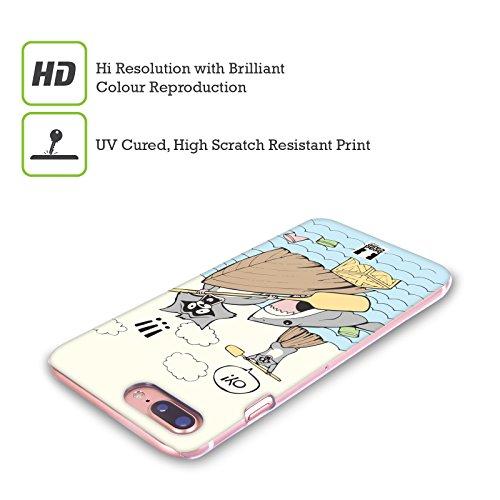 Head Case Designs Lost In China World Traveller Cover Retro Rigida per Apple iPhone X Esca Per Squali