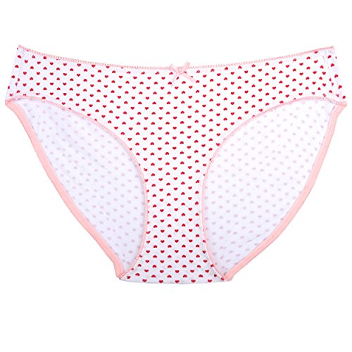 Zegoo Damen Bikini Panty Verschiedene Unterwäsche Hipster 6er Pack - Mehrfarbig - XX-Large - 8