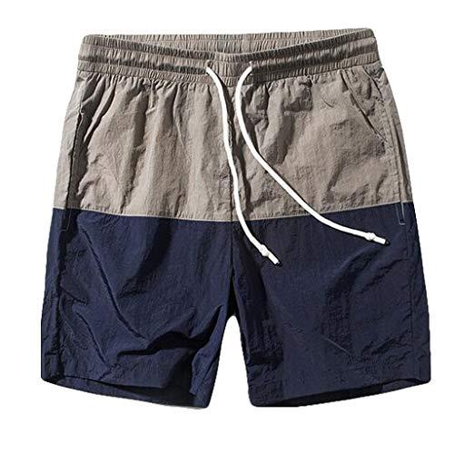 mit geraden Shorts für Männer Slim Badehosen für Kurze Hosen, die schnell trocknen ()