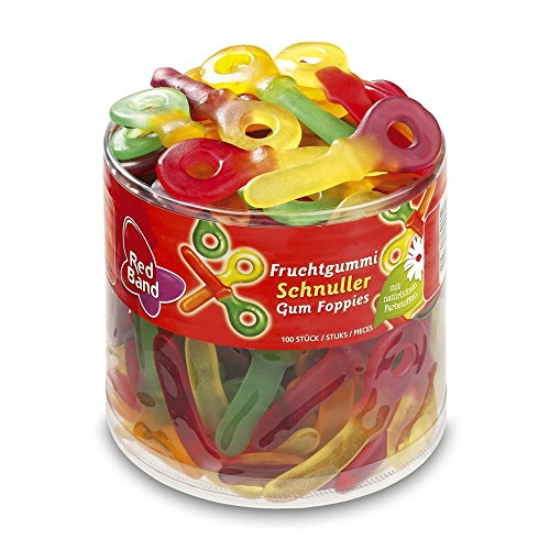 Red Band Fruchtgummi Schnuller, 1er Pack (1 x 1.2 kg)