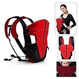 HJ® Baby-und Kindertrage Comfort Babytrage Bauch- und Rücken- 3.6-9.1KG 3-18