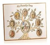 MOMENTZ FAMILY TREE PHOTOFRAME (ROSE GOL...