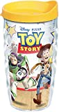 Tervis Wavy Wrap Tumbler with Yellow Lid, 10-Ounce, Disney Toy Story by Tervis