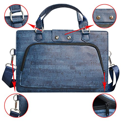 Pavilion x360 13 Case 2 in 1 Accurately Designed Protective PU Leather Cover   Portable Carrying Bag For 13 3  HP Pavilion x360 13 13-u000 Series Lapt