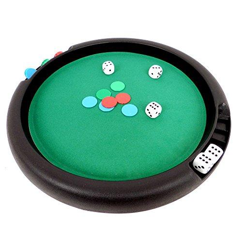 WDK PARTNER - A1300424 - Jeux de société - Piste de jeu 31 cm avec jeu du 421