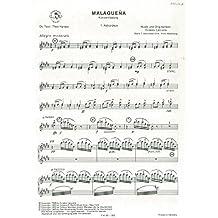 Ernesto Lecuona: MALAGUENA–Akkordeon 1Teil–Sheet Music