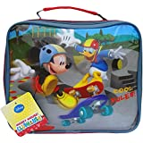 Boys Disney Mickey Mouse & Donald Duck School Packed Lunch Travel Bag
