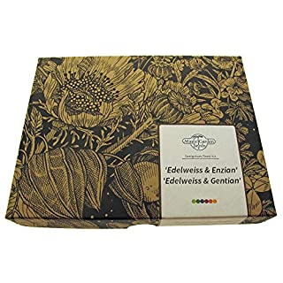 Seed kit Gift Box: 'Edelweiss & Gentian' The Two Most Famous Alpine Flowers