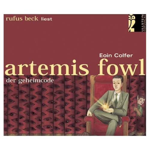 Artemis Fowl - Der Geheimcode. Bearbeitete Hörfassung (Livre en allemand)