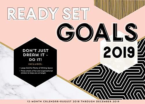 Ready Set Goals! 2019: 16-Month Calendar - September 2018 through December 2019 (Calendars 2019) (Adressbuch-editor)