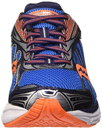 Saucony Phoenix 8, Entraînement de course homme Multicolore (Bleue/Orange/Silverpa)