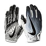 Nike Vapor Knit 2.0 Design 2018 Receiver Handschuhe - weiß/schwarz Gr. L