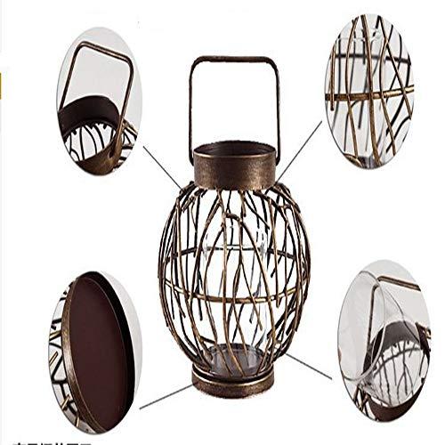 YANGBAO Kerzenhalter Lampe Retrostil Der Chinesischen Art Romantischer -