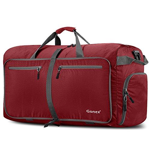 Gonex - Bolsa Equipaje/Viaje Duffel Plegable Impermeable