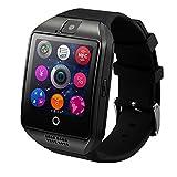 WildGuarder Smartch Einen Sim - Karten - HANDY - Uhr Zeit Android - Bildschirm, Kamera, Bluetooth, Großes Zifferblatt Der Generalversammlung (Grey)