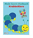 VE 5 Mein Samt-Malbuch: Krabbeltiere