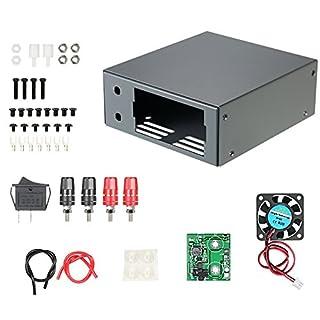 KKmoon Digital Konstante Spannung Gleichstromversorgung Energieversorgung DIY Gehäuse Kit (Nur Box) RD DP DPH DPS mit Kommunikation Schnittstelle Abwärtswandlergehäuse Power Supply Case