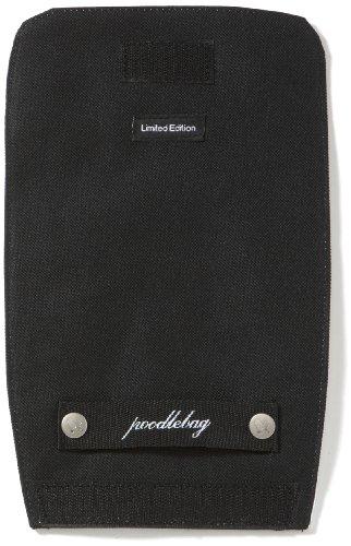 Poodlebags young Art - slogan- ritsch ratsch small Lid Pink - 3YA0312RRSLPINW, Unisex - Kinder Messengerbags, Schwarz (black), 18 x  1 x 27 cm (B x H x T) Schwarz (black)