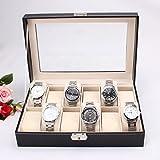 Revesun - Caja de 12 relojes de pulsera para hombre - Revesun - amazon.es