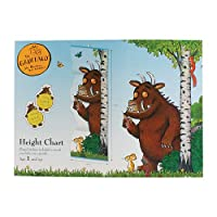 Milly & Flynn Gruffalo Wall Hanging Height Chart With A4 Set Of Fun Stickers To Track Your Little Monsters Growth