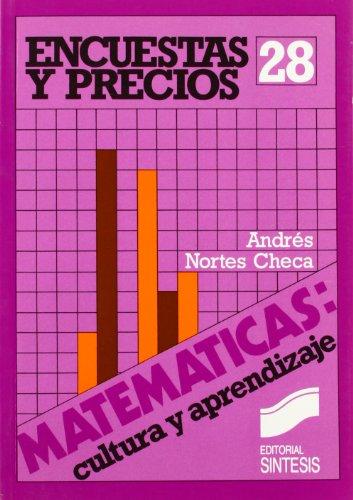 Descargar Libro Encuestas y precios (Matemáticas, cultura y aprendizaje) de Andres Nortes Checa