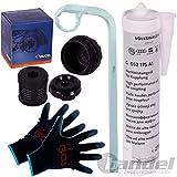 Filter Kit 1x VAICO Hydraulikfilter, Haldex-Kupplung 1x 275 ml VAG OE Haldex 1x Ölfilterschlüssel 12 Kant 1x Mechaniker Handschuhe beschichtet Größe 10