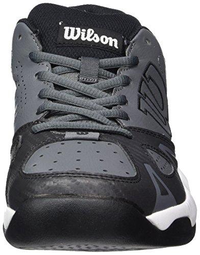 Wilson Rush Open 2.0 Iron Gate, Scarpe da Tennis Uomo Multicolore (Iron Gate/Black/White)