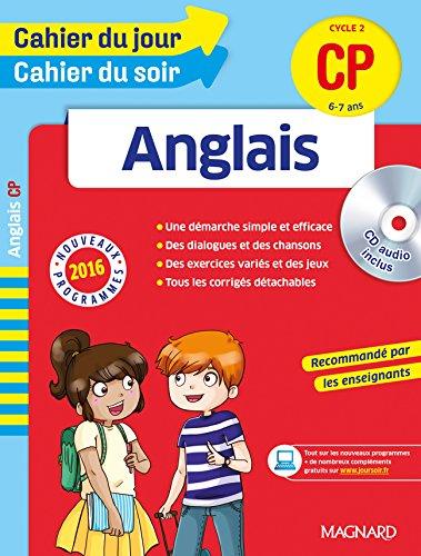 Cahier du jour/Cahier du soir Anglais CP - Nouveau programme 2016 par Collectif