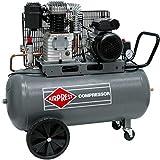 Airpress compressore ad aria compressa, 3 CV, 2,2 kW, 10 bar, 100 litri, compressore mobile a pistone, 230 Volt, HL425-100