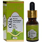 Indus valley 100% pure and natural peppermint essential oil for hair & face care(15ml)