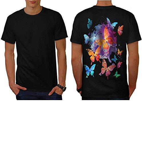beaute-papillon-la-nature-aile-homme-nouveau-noir-l-t-shirt-reverse-wellcoda
