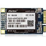 Zheino Q1 mSATA SSD de 60 GB (30 * 50 mm) Interno mSATA Memoria mSATA Disco Duro Unidad de Estado Sólido Para Mini PC Tablet PC