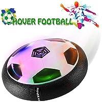Air Hover pelota juguete Power Soccer con plástico espuma suave parachoques y LED de colores, Leuchten Glide Base de Entrenamiento de Fútbol Indoor & Outdoor con los padres, diversión Juego para niños