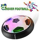 BULUGOU Air Power Fußball - Baztoy Hover Power Ball Indoor Fußball mit LED Beleuchtung, Perfekt Zum Spielen in Innenr�