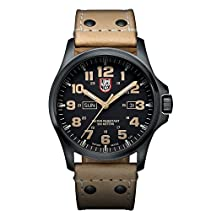 Luminox Herren-Armbanduhr XL Analog Quarz Leder 1925