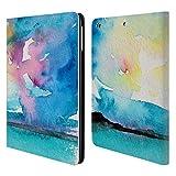 Head Case Designs Offizielle Mai Autumn Flucht 2 Meer Und Wolken Brieftasche Handyhülle aus Leder für iPad Air (2013)